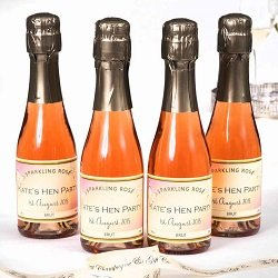 Personalised-miniature-Champagne-party-favours