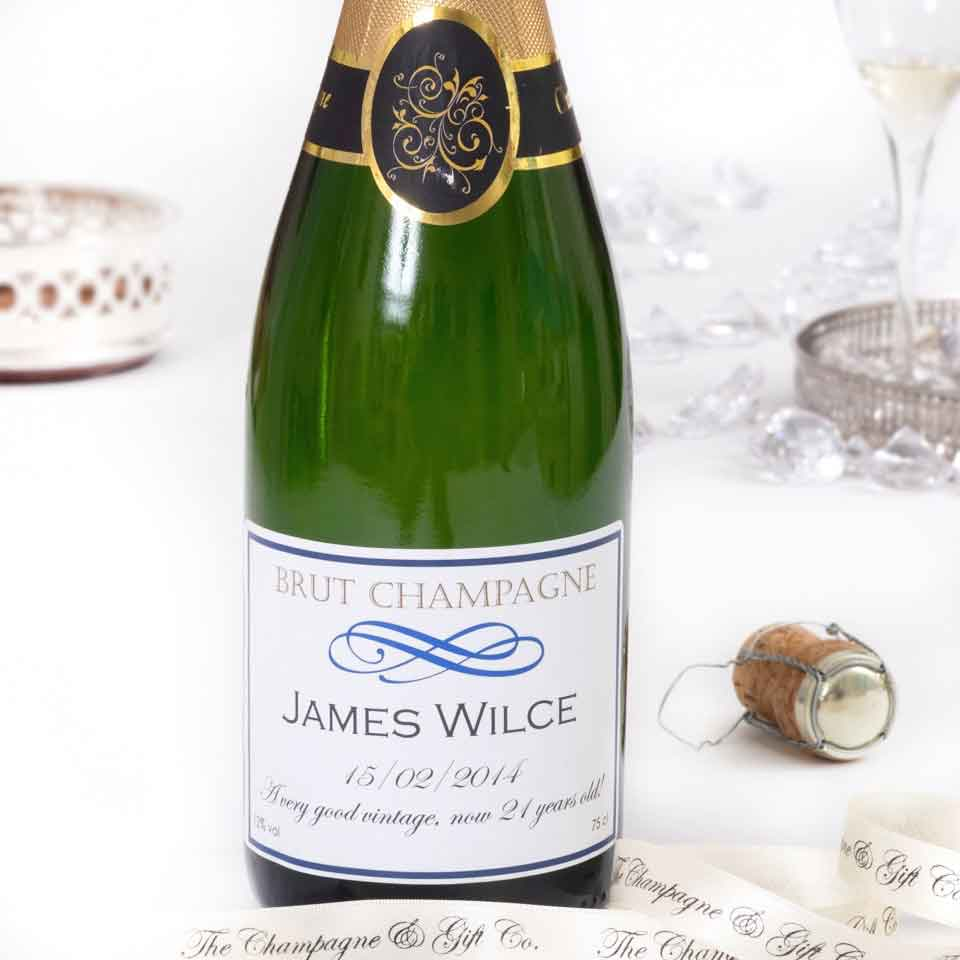 Personalised Wedding Champagne - Signature Grande Reserve