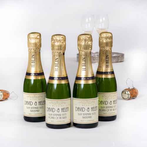 Create your own mini personalised Champagne