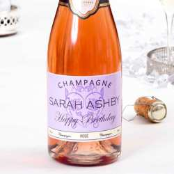 Personalised Wedding Champagne - Rosé