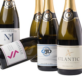 Corporate-Branded-Prosecco-Bottles-showing-company-logo