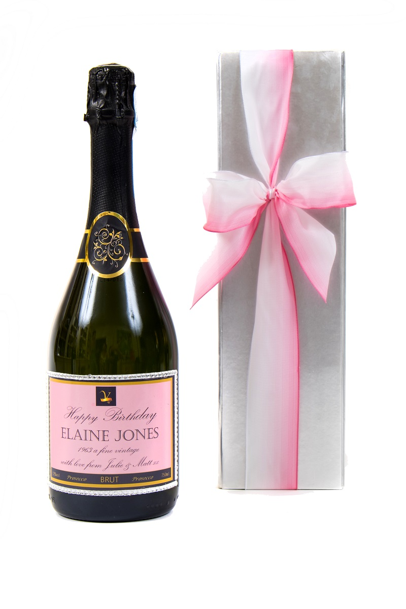 personalised-prosecco-with-pretty-pink-bow
