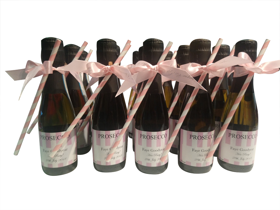 Personalised Mini Proseccoc Bottles