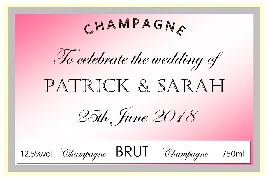 personalised-wedding-champagne-label-pale-pink